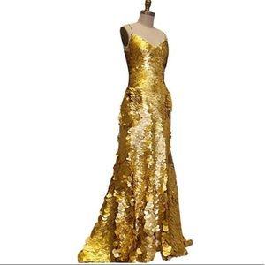 Zac Posen sequins gown 🎉Host Pick🎉